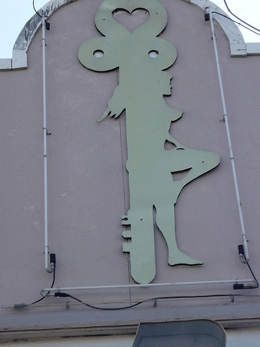 Mature female anal